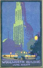 Woolworth Building June Night